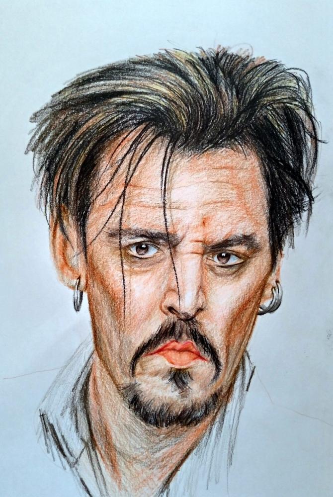 Johnny Depp por linshyhchyang